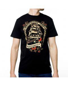 Sailor Jerry Official Voyage Home T-shirt Men's Black