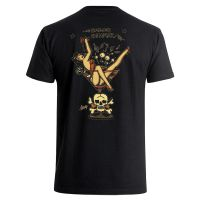 Sailor Jerry Official Martini Girl Pocket T-Shirt Men's Black