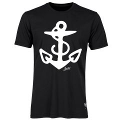 Sailor Jerry Official Anchor T-Shirt Men's Black