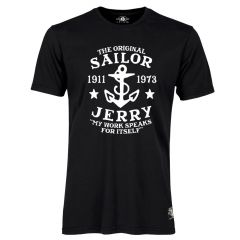 Sailor Jerry Official My Work Classic T-Shirt Men's Black