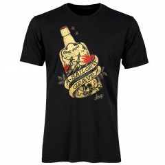 Sailor Jerry Official A Sailor's Grave T-shirt Men's Black