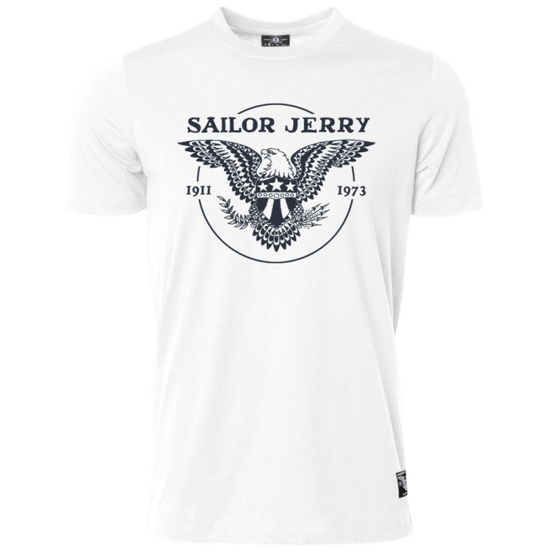 Sailor Jerry Official Eagle T-shirt Men's White