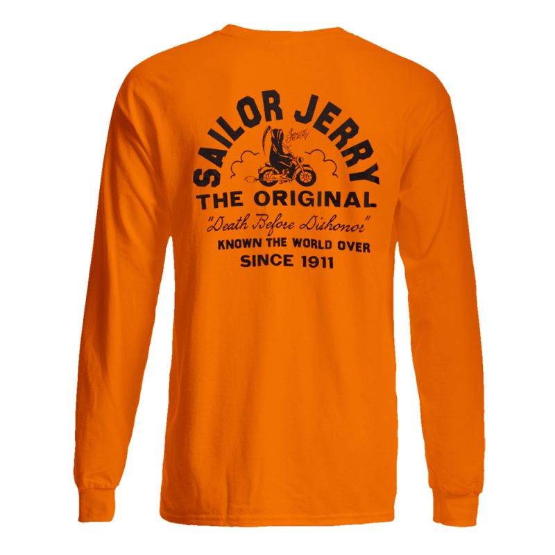 Sailor Jerry Official Known The World Over Light Sweater / Long Sleeve T-Shirt front