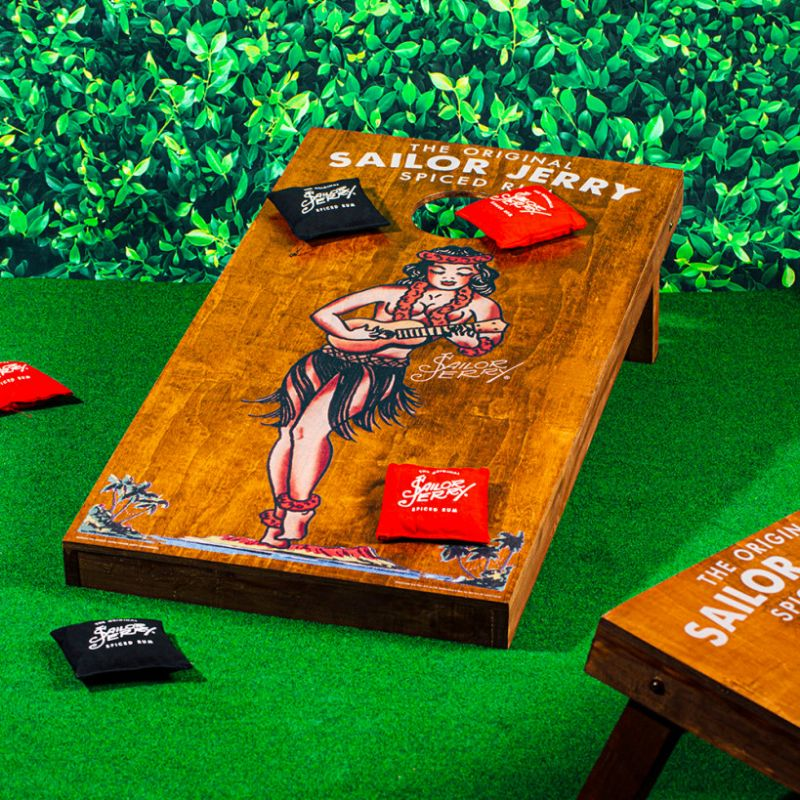 Sailor Jerry Official Cornhole lifestyle
