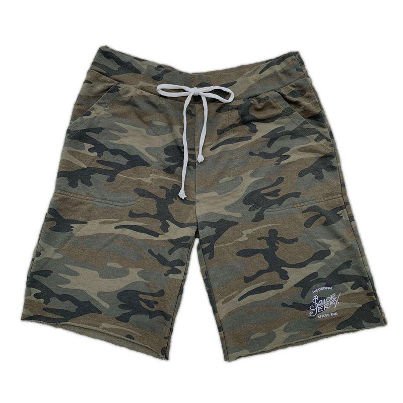 Sailor Jerry Official Camo Sweatpant Shorts