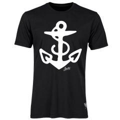 Sailor Jerry Official Anchor T-Shirt Men's Black