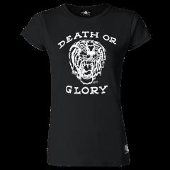Sailor Jerry Official Death or Glory T-Shirt Women's Black