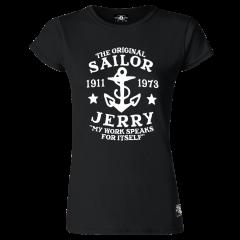 Sailor Jerry Official My Work Classic T-Shirt Women's Black