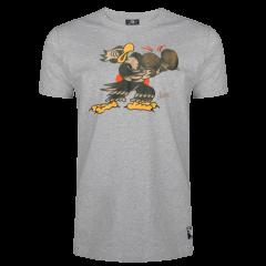 Sailor Jerry Official Put 'Em Up T-shirt Men's Grey Heather