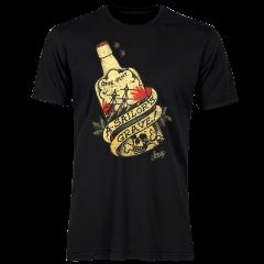 Sailor Jerry Official A Sailor's Grave T-shirt Men's Black