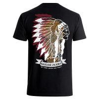 Sailor Jerry Official Indian Head T-shirt Men's Black