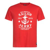 Sailor Jerry Official My Work Classic T-Shirt Men's Red
