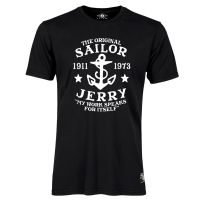 Sailor Jerry Official My Work Classic T-Shirt Men's Black