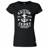 Sailor Jerry Official My Work Classic T-Shirt Women's Black