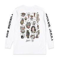 Sailor Jerry X Bad Monday Flash Sheet L/S White