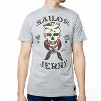 Sailor Jerry Official Skeleton Crew T-Shirt Men's Grey